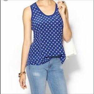 Joie l Peri Nautical Silk Racerback Tank